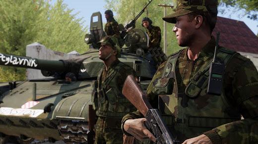 Arma3用1991-1995年のクロアチア軍アドオン
