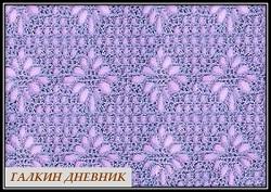 ajurnii uzor svyazannii kryuchkom