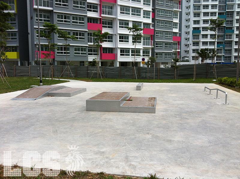 Lion City Skaters Punggol Skatepark
