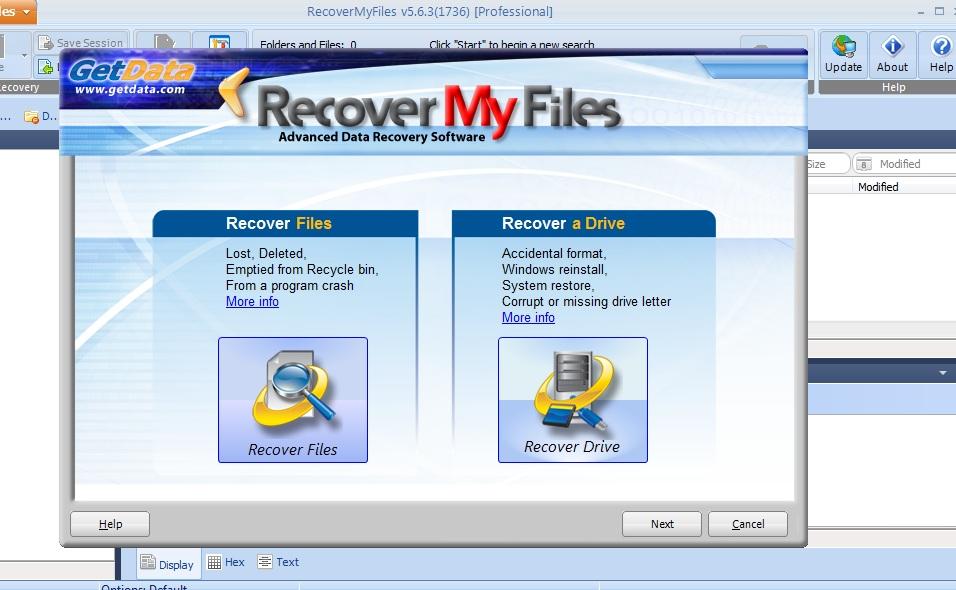 Recuperar la unidad de almacenamiento de datos