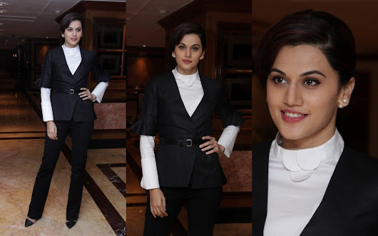 Taapsee Pannu nailed in a suit look