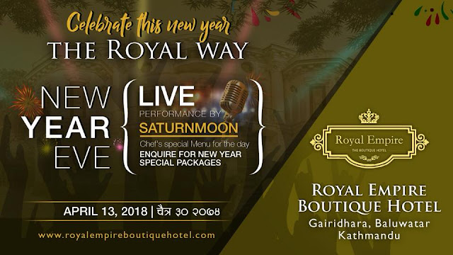 New Year Eve 2075 hosted by Royal Empire Boutique Hotel