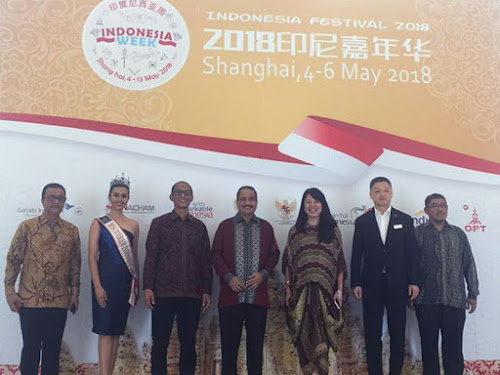 Indonesia Festival 2018 di Shanghai China
