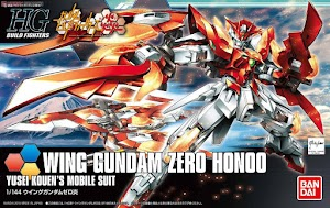 Bandai HGBF Gundam Wing Zero Honoo Model Kit [1:144]