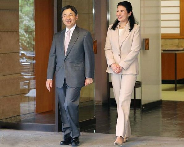 Crown Prince Naruhito of Japan attend the 8th World Water Forum at the National Stadium in Brasilia. Crown Princess Masako of Japan