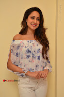Actress Pragya Jaiswal Latest Pos in White Denim Jeans at Nakshatram Movie Teaser Launch  0043.JPG