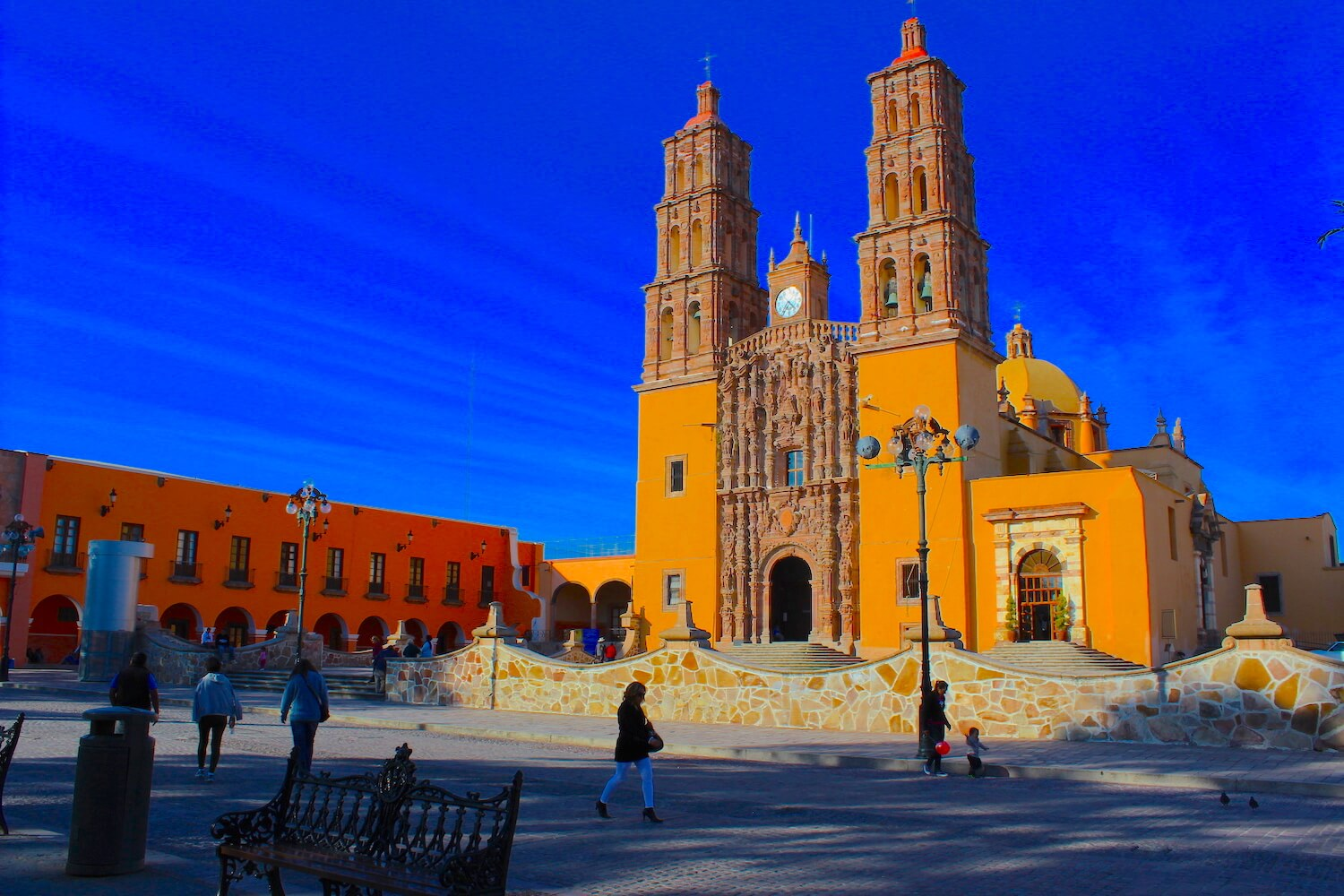 dolores hidalgo grito church yellow