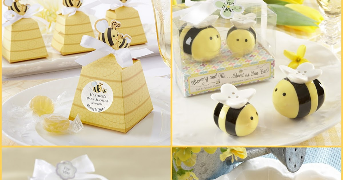 HotRef Blog Sweet As Can Bee Honeybee Baby Shower Party Favors