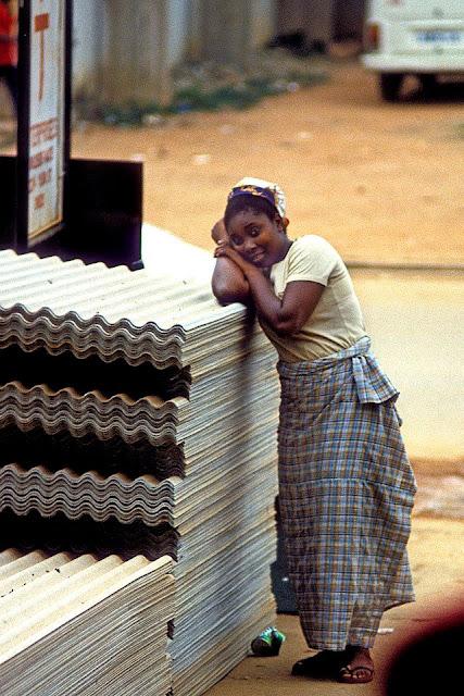 Fotografías de Ondo, Nigeria en 1982