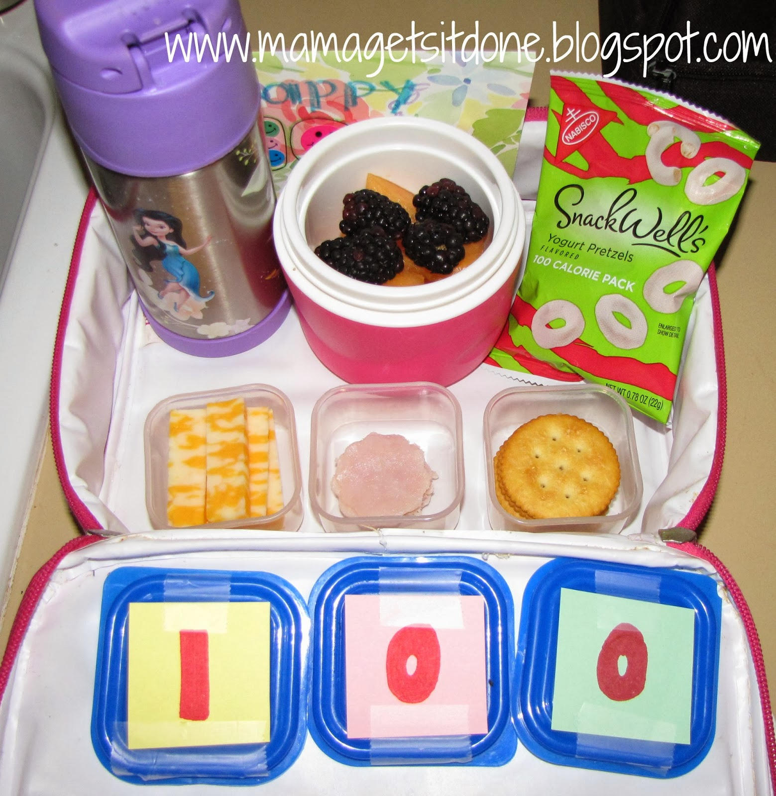 Mama Gets It Done 100th Day Of School Lunch Ideas