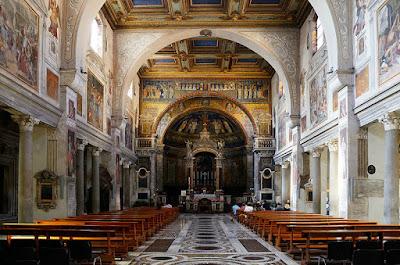 basilica santa prassede roma