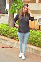 Actress Ritika Singh Stills at Guru Movie Success meet  0021.JPG