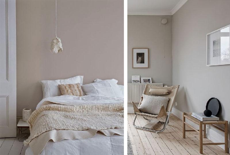 pareti colore beige chiaro