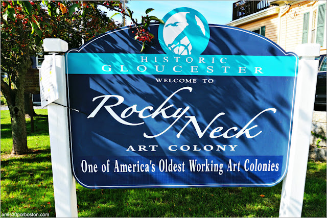 Rocky Neck Art Colony en Gloucester, Massachusetts