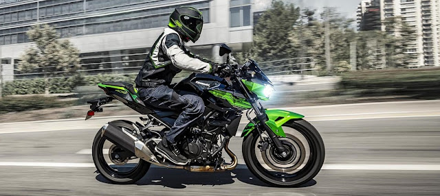 All New Kawasaki Z250 2019 jelek