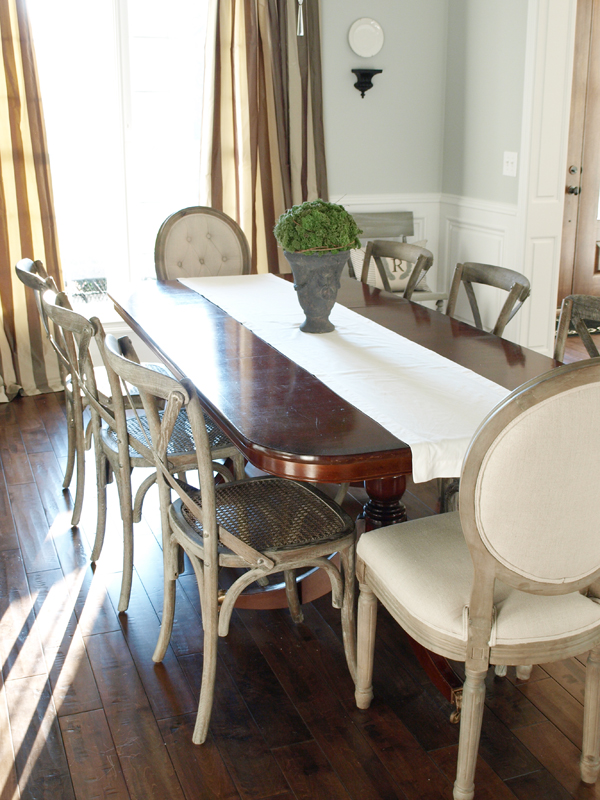 Painting A Weathered Wood Finish Dining Chair Makeover
