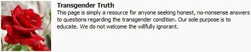 https://www.facebook.com/pages/Transgender-Truth/618355984845889