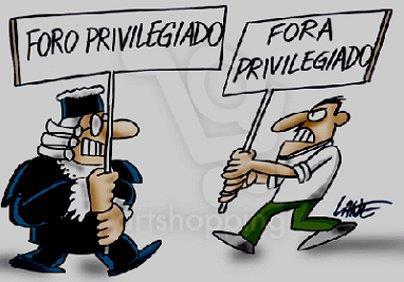 Surrealismo Brasileiro: querem acabar com o foro privilegiado e criar o foro dos mais privilegiados