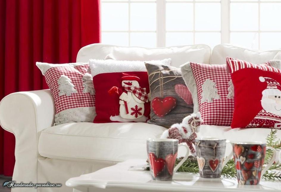 Рождественский дизайн интерьера. 20 фотографий (4)