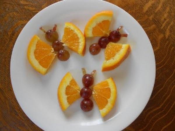 Mariposa Animada Naranja