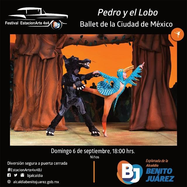 Festival EstacionArte 4x4 BJ - PROGRAMACIÓN SEMANAL