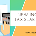 New Income Tax Slab and Rates FY 2019-2020