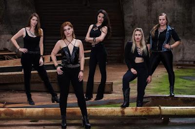 Mulheres no heavy metal: banda Panndora faz show no Sesc Registro-SP
