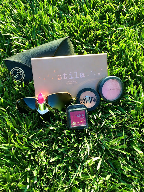 May Favorites Stila Benefit MAC Ray Bans Review