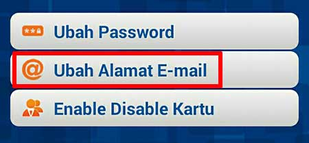 Ubah Email