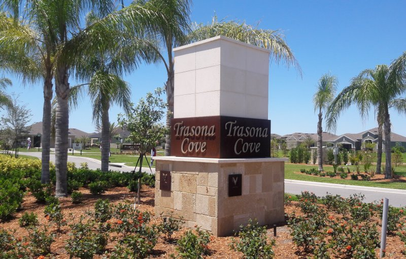 Trasona Cove Main Entrance Viera Florida
