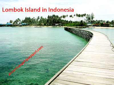 Attractive spot in Lombok