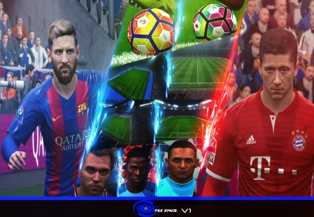 [PES 2017] PES Space 2017 Patch v1 by Mahmoud Ibrahim