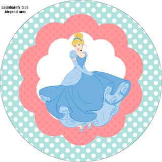 Kit de cumpleaños de Princesas Disney Cenicienta