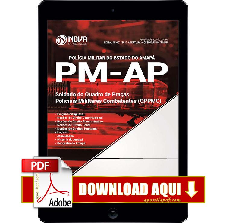 Apostila PM AP 2017 PDF Download Soldado