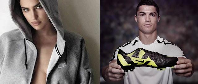 Irina provoca la última crisis en la relación Nike-Cristiano Ronaldo