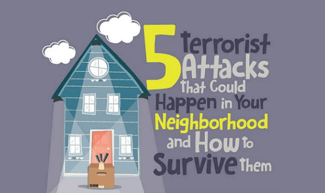 5 Terrorist Attacks That Could Happen in Your Neighborhood and How to Survive Them
