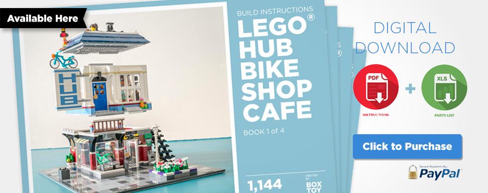 Bricktoyco Lego Auto Garage Moc Instructions Kit Now Available