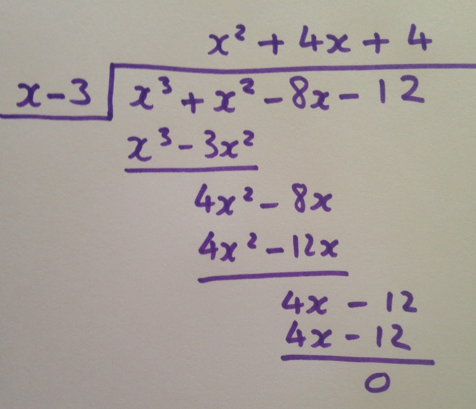 Polynomial Long Division Worksheet Algebra 2