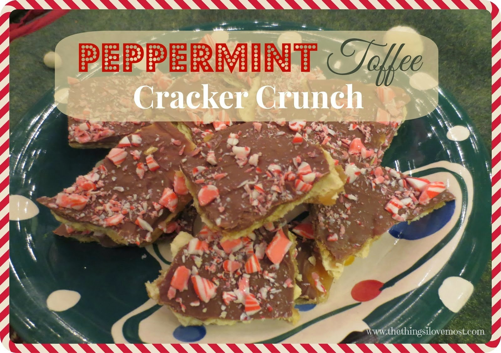 peppermint tofee