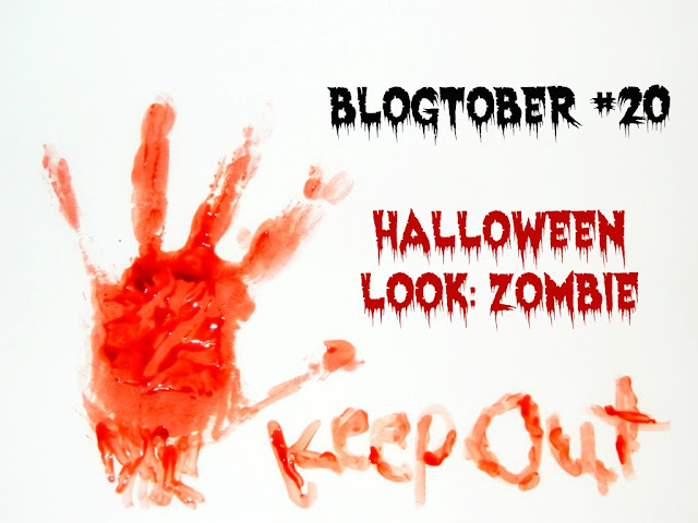 Halloween Zombie Make Up Look