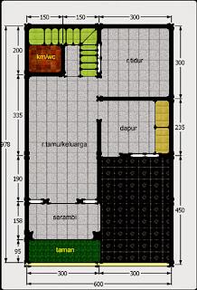 4000 Desain Rumah Kpr Type 21 HD Terbaru