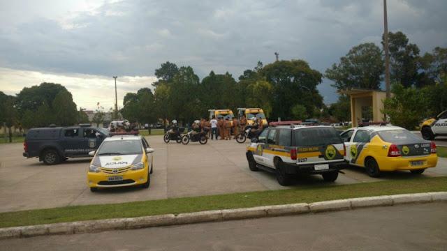 Forças de Segurança realizam operação na região Sul de Curitiba (PR)