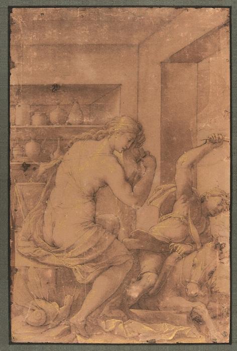 Mostra Jacopo Ligozzi Firenze - Allegoria dell'Accidia, 1590