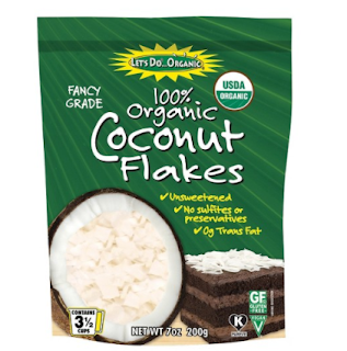 Coconut flakes