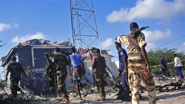 Al-Shabab militants kill at least 10 people in key Somali town