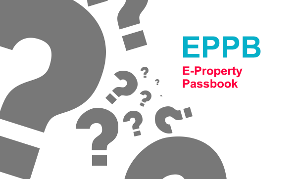 what is e-property passbook for real estate