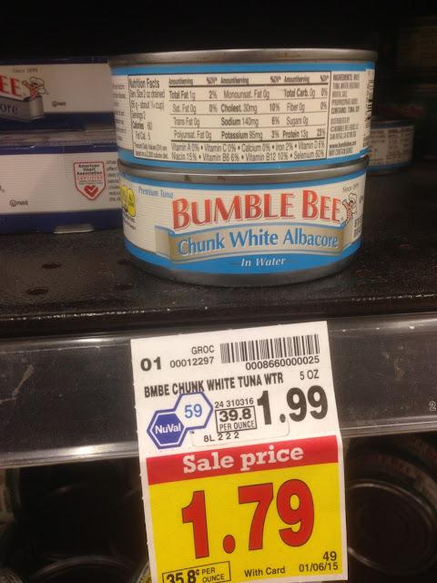 Chunk White Albacore, 5 oz, Bumble Bee - Kroger
