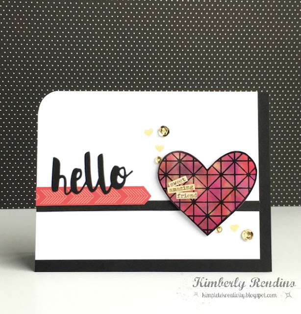 hello card | alcohol ink | simon says stamp | kimpletekreativity.blogspot.com