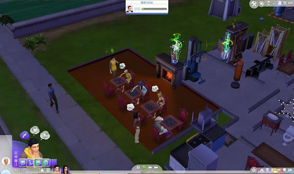 模擬市民 4 (The Sims 4) 開圍棋指導教室快速刷好感度方法 @ 娛樂計程車 :: 痞客邦 PIXNET