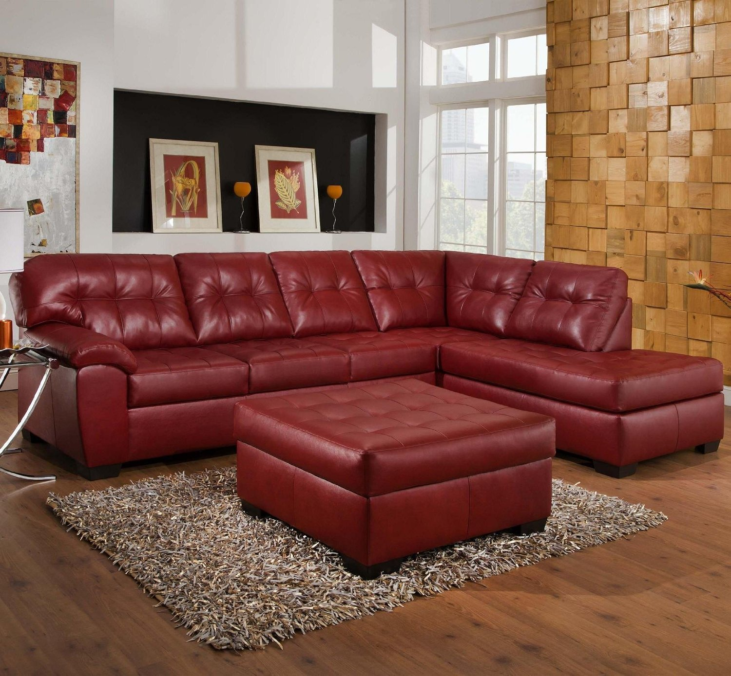 Milano Red Leather Sofa: Sofa Ideas: Red Leather Sofa